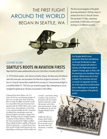 Page 15 of The Seattle World Cruiser Prepares to Retrace the 1924 Flight