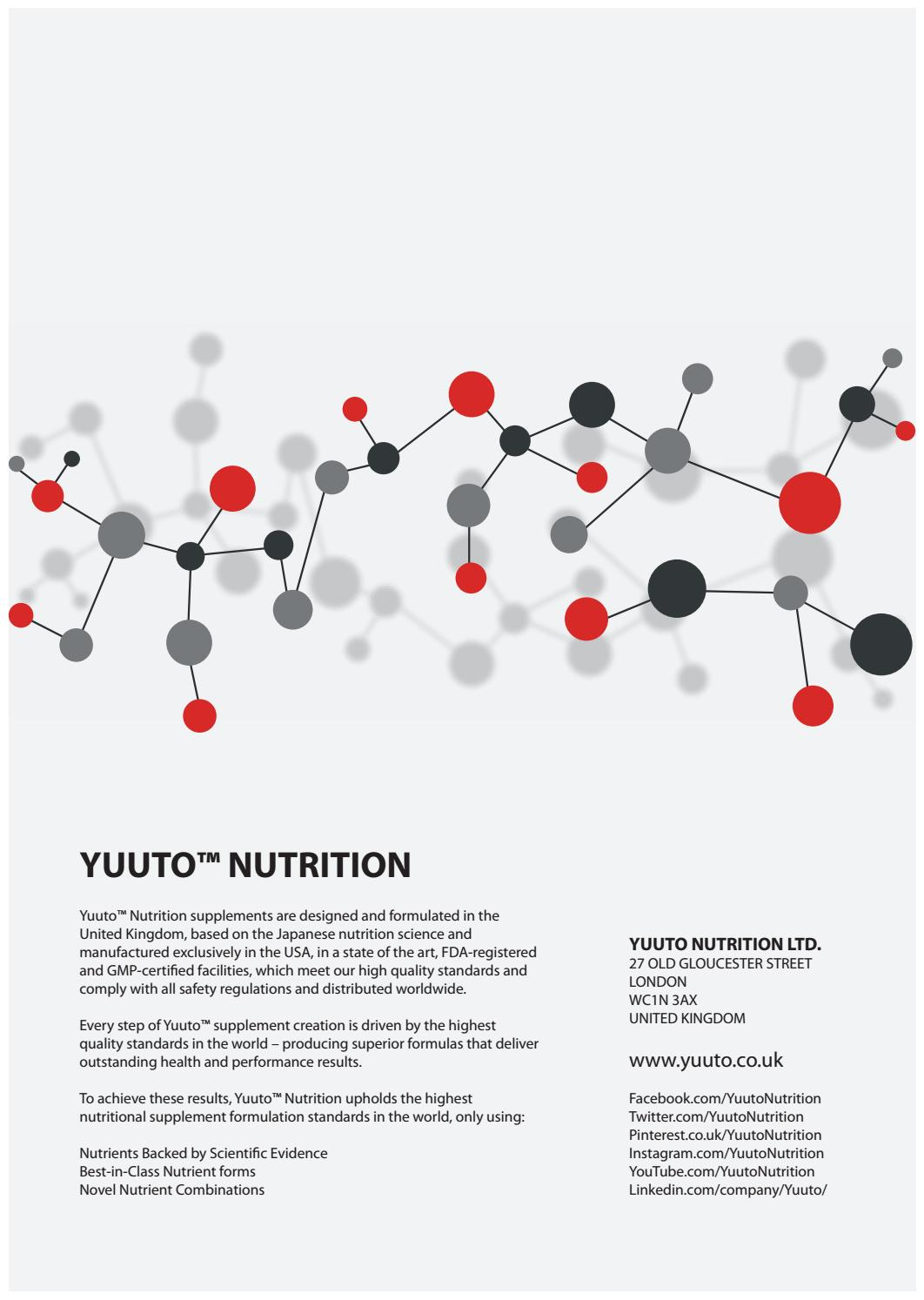 Yuuto™ Nutrition Science-Based Nutritional Supplements by