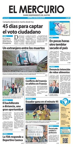50957ed78903 El Mercurio-05-02-2019 by Diario El Mercurio Cuenca - issuu