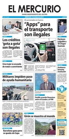 c4688d216a2f El Mercurio-13-02-2019 by Diario El Mercurio Cuenca - issuu