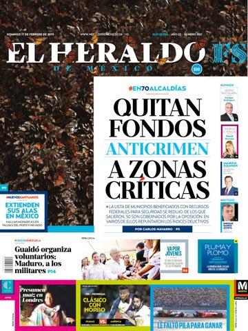 ee41e0570bc 17 de febrero de 2019 by El Heraldo de México - issuu