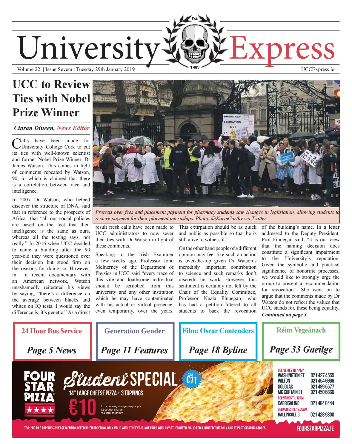 University Express Vol  22: Issue 7