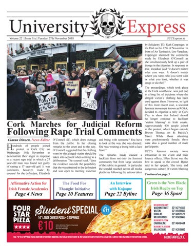 The University Express Vol 22 Issue 6 By University