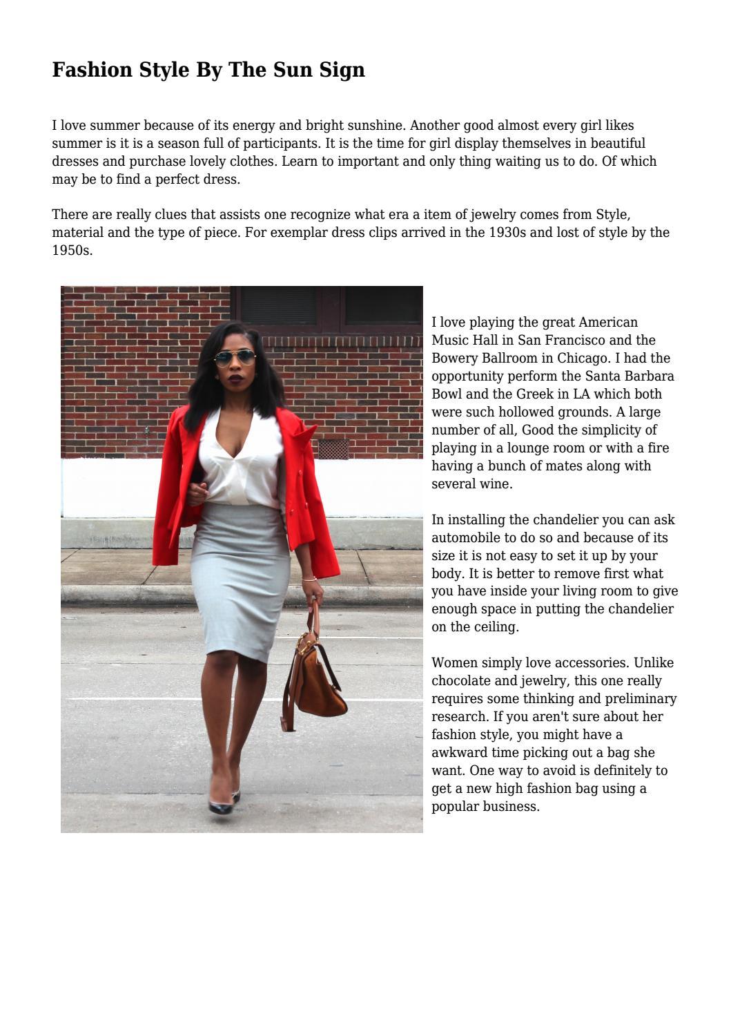 f5b6b778d80 Fashion Style By The Sun Sign by skylifestylemedia - issuu