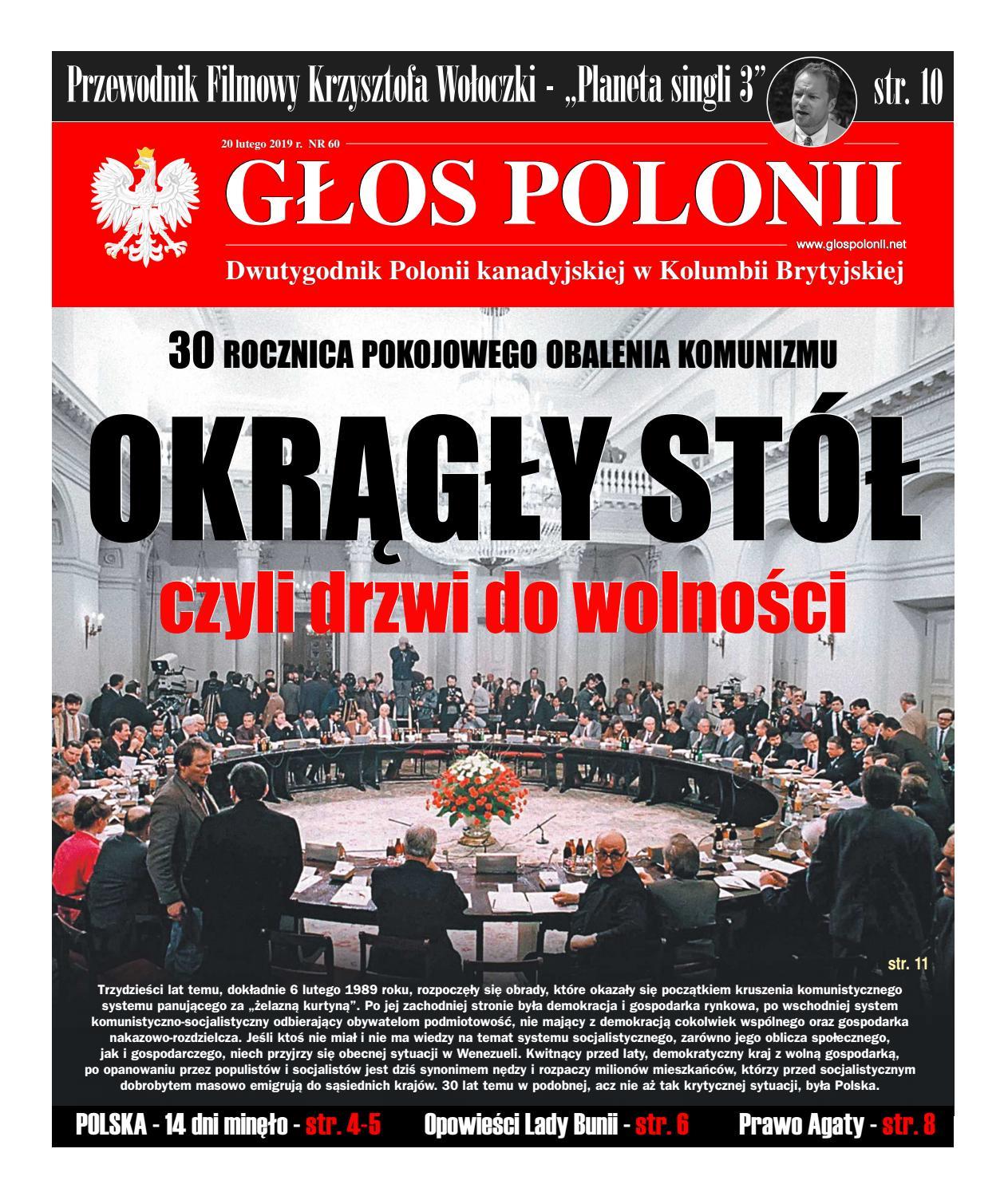 Głos Polonii Nr 60 By Rekacja Issuu
