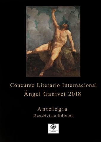 c559b472a Antología concurso Ángel Ganivet 2018 by Concurso Literario ...
