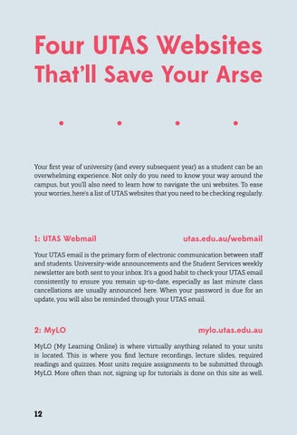 Page 12 of Four UTAS Websites That'll Save Your Arse