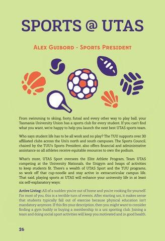 Page 26 of Sports @ UTAS
