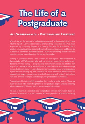 Page 28 of The Life of a Postgraduate