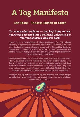 Page 6 of A Tog Manifesto