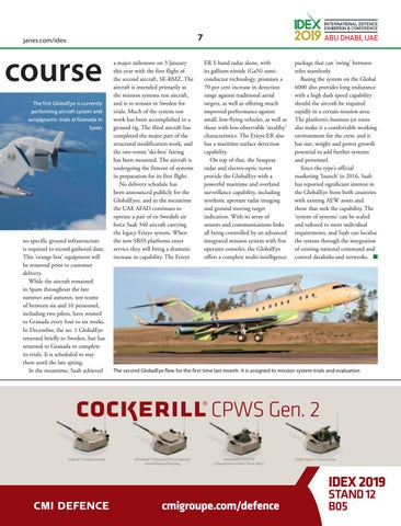 Page 9 of GlobalEye on course