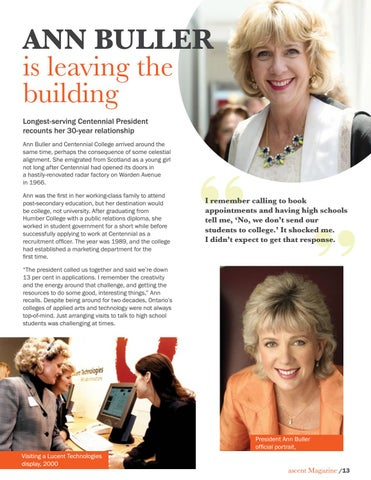 Page 15 of Ann Buller is leaving the building