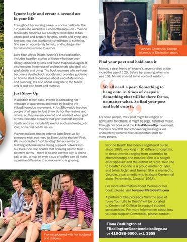 Page 9 of Yvonne Heath, 2018 alumna of distinction