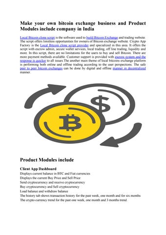 bitcoin local și