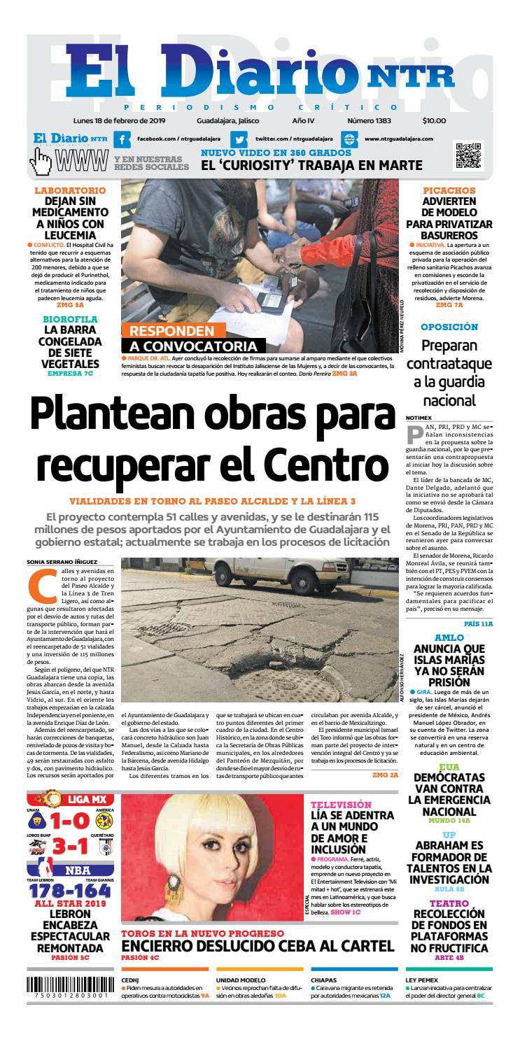 dc9ee2be6 El Diario NTR 1383 by NTR Guadalajara - issuu