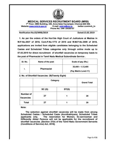 28 Pharmacist Recruitment With a Salary up To 1 2 Lakh pm at