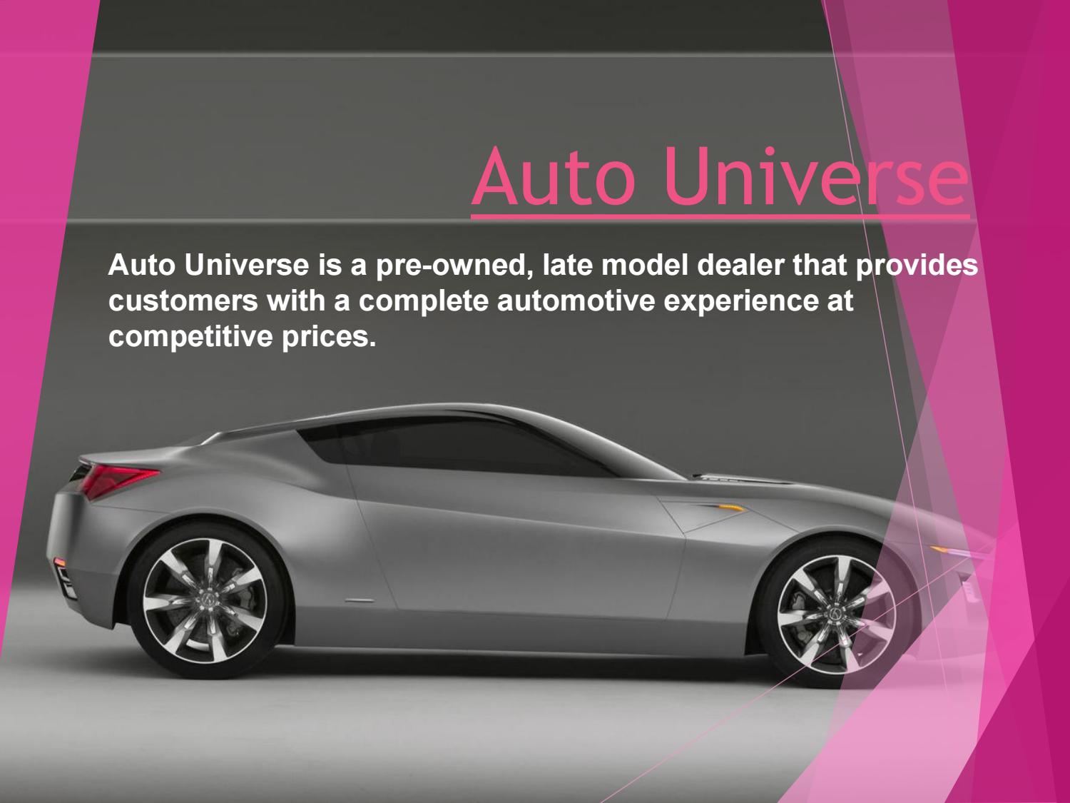 Car Dealerships In Memphis >> Used Car Dealerships Near Memphis Tn Auto Universe By Auto
