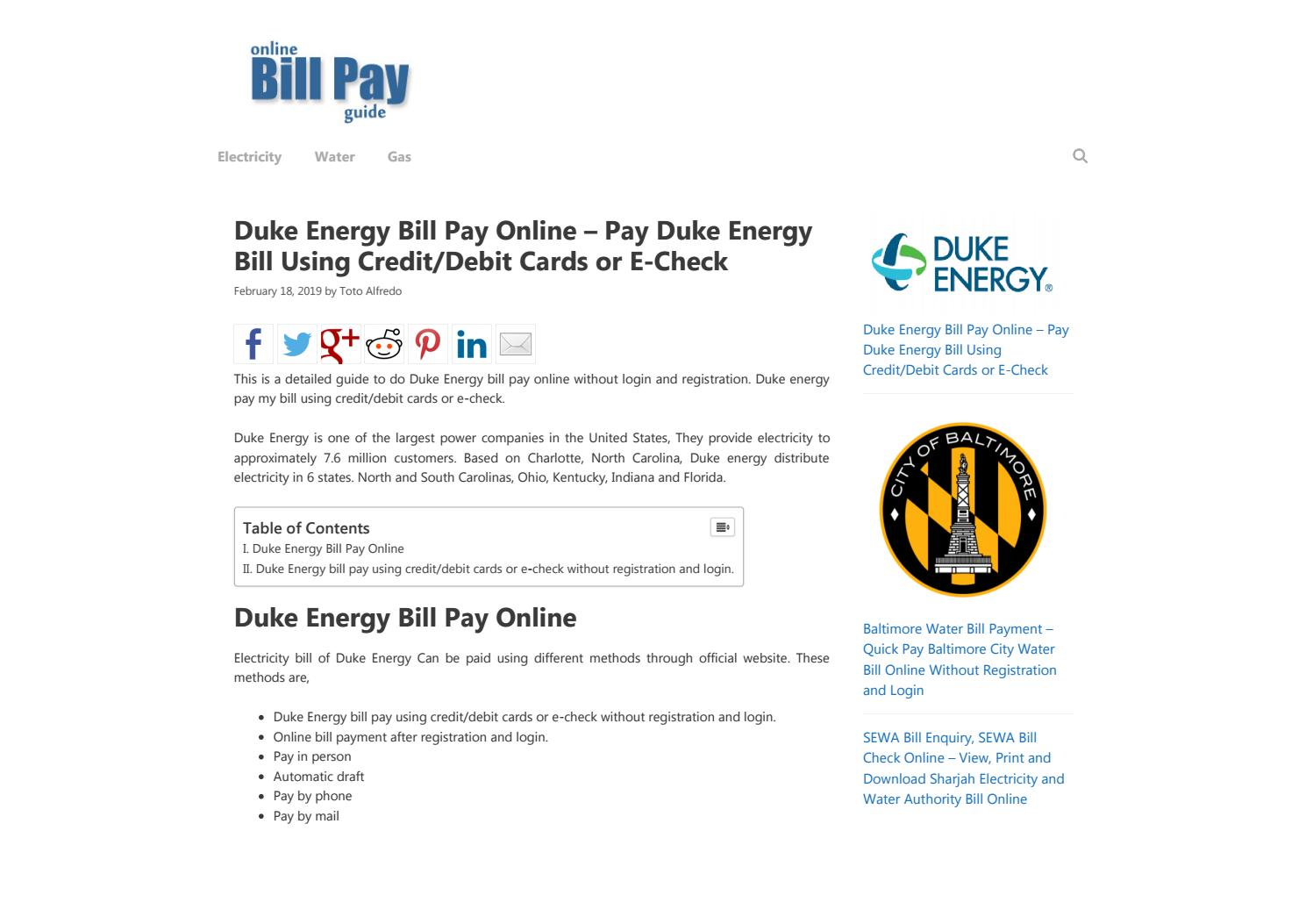 Duke Energy by Humble Netizen - issuu