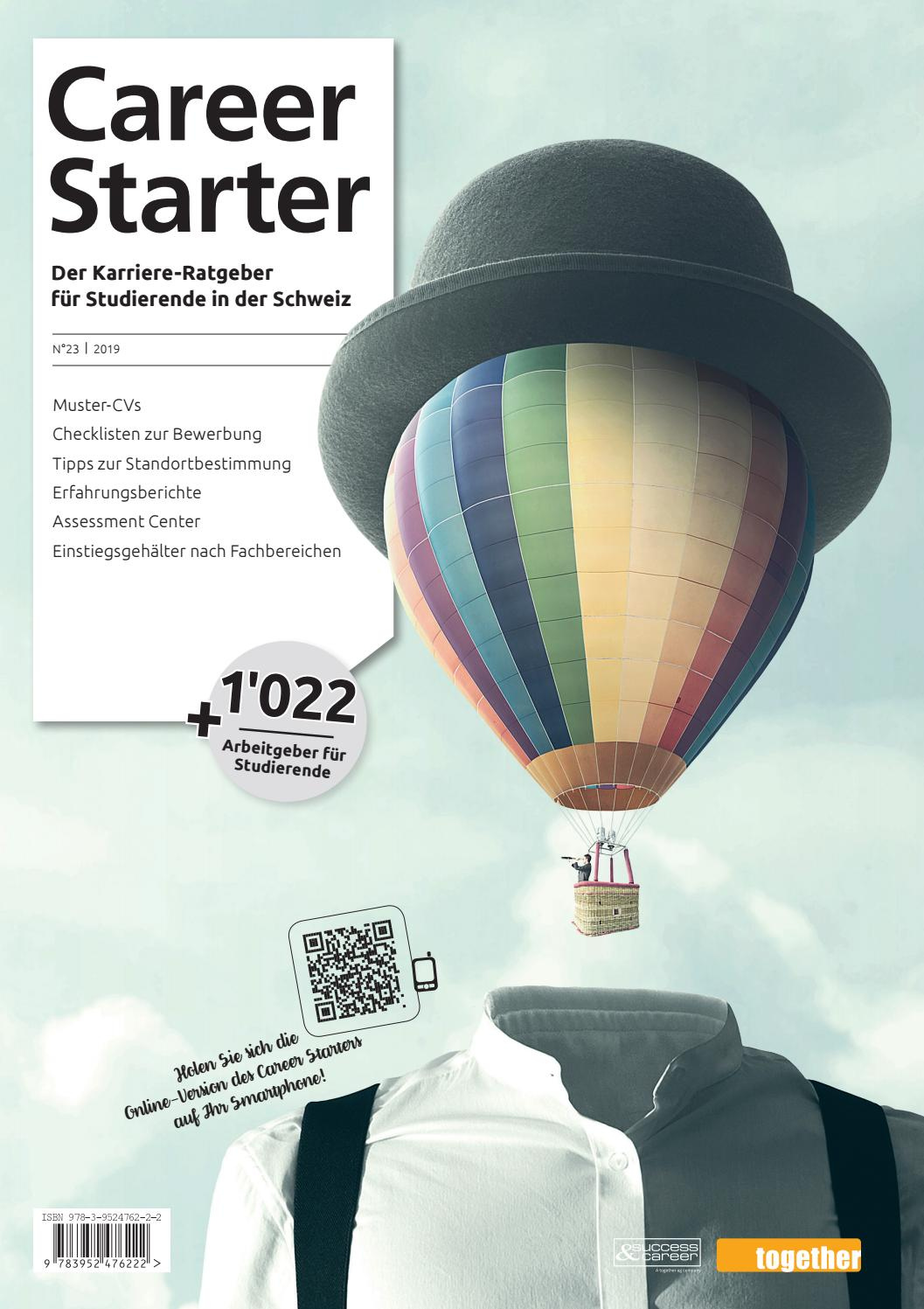 Career Starter Nr. 23 Deutsche Ausgabe 2019 by
