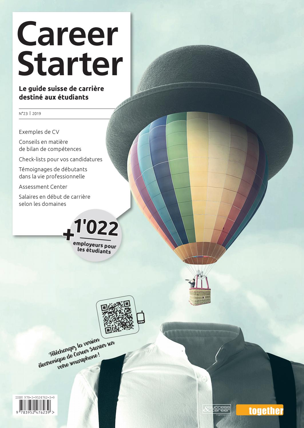 Career Starter Nr 23 Edition Française 2019 By