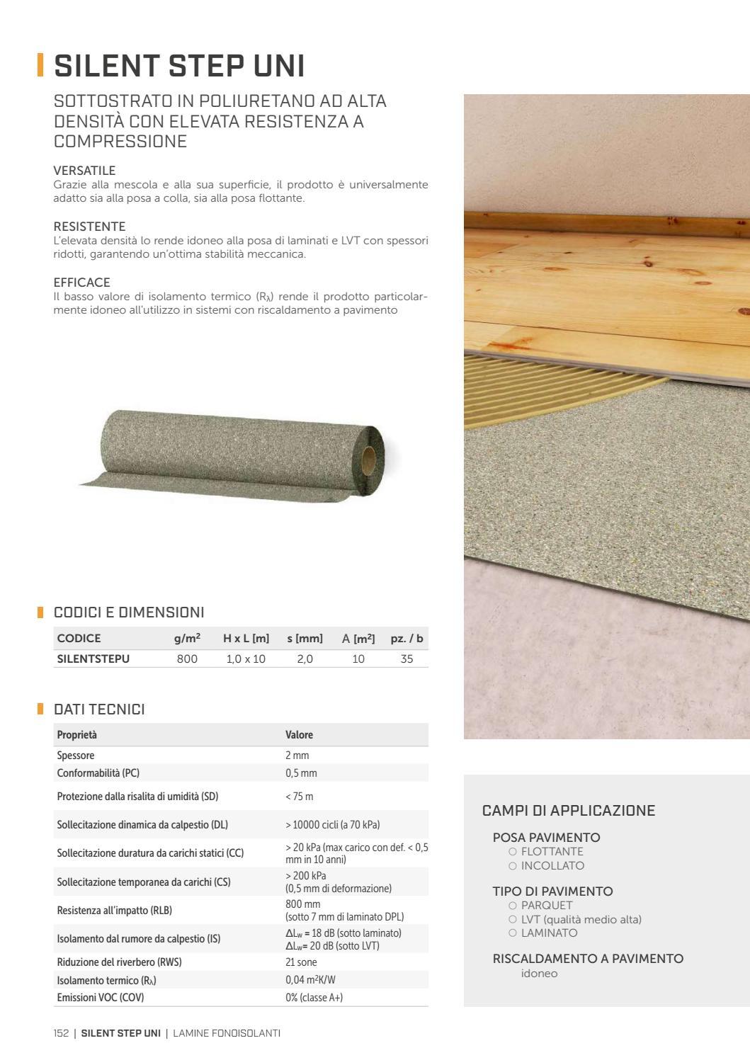 Riscaldamento A Pavimento E Laminato soluzioni per l'acustica - it by rothoblaas - issuu