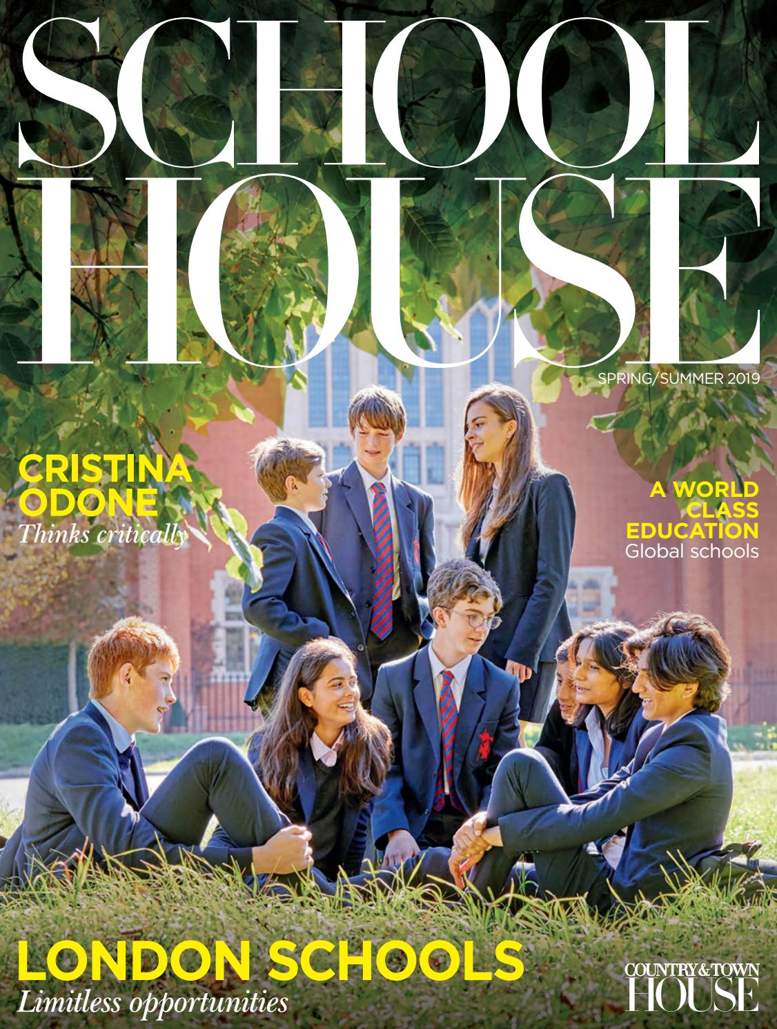 9c550eb890b1 School House - Spring/Summer 2019 by Country & Town House Magazine - issuu
