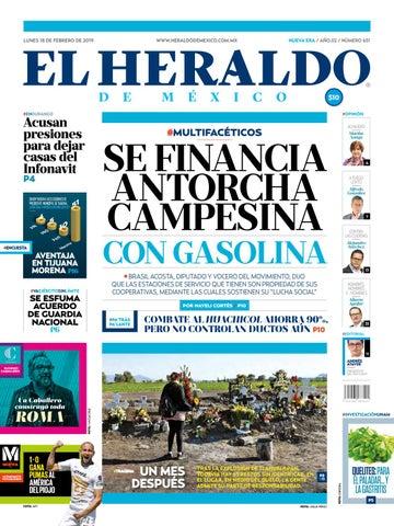 18 de febrero de 2019 by El Heraldo de México - issuu 3c2048cb1e0