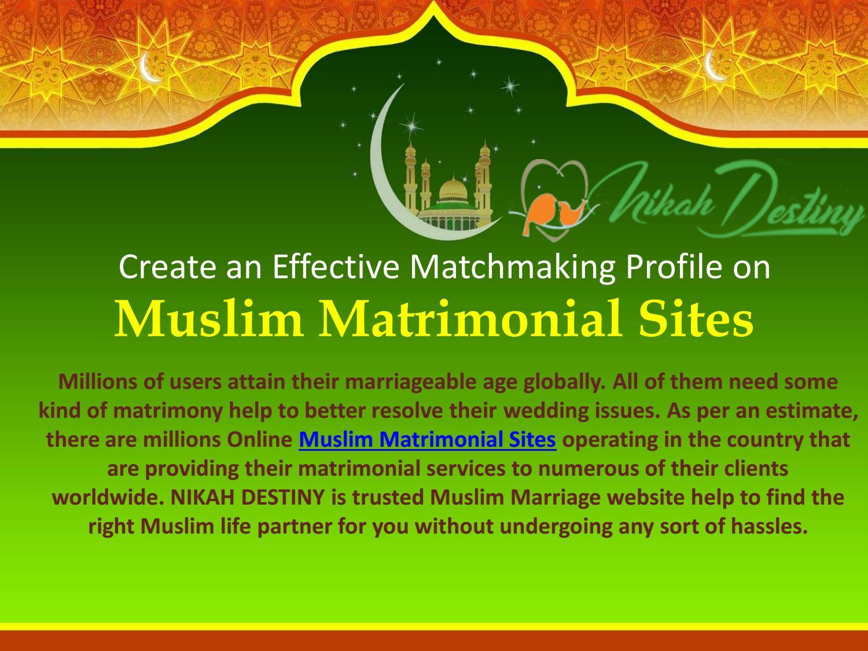 Islamic matrimonial websites