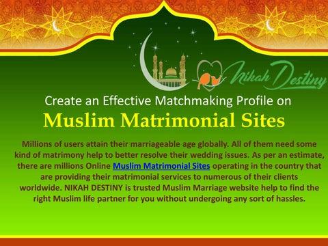 Free muslim matrimonial sites for wedding by Nikah Destiny - issuu