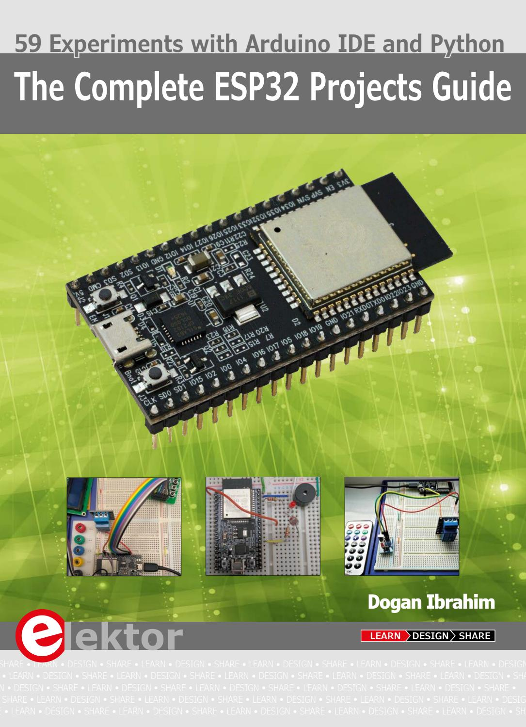 The Complete ESP32 Projects Guide (Extract) by Elektor - issuu