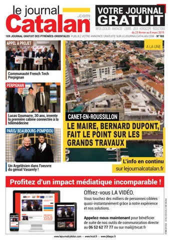 Le Journal Catalan N 165 1er Magazine Des Pyrenees Orientales By