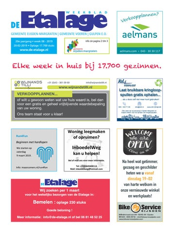 8253644350f De Etalage week 8 by De Etalage - issuu
