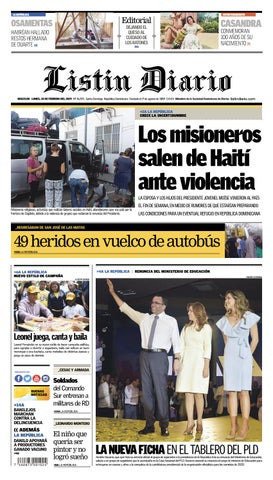 994c38b29 LD 18-02-2019 by Listín Diario - issuu