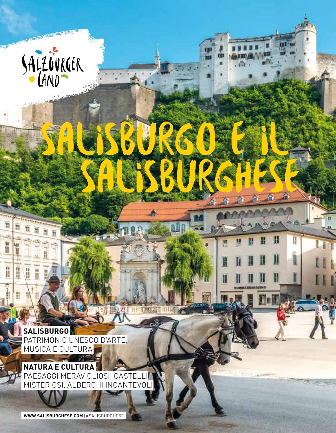 abd80f187f Salisburgo e il Salisburghese by SalzburgerLand - issuu