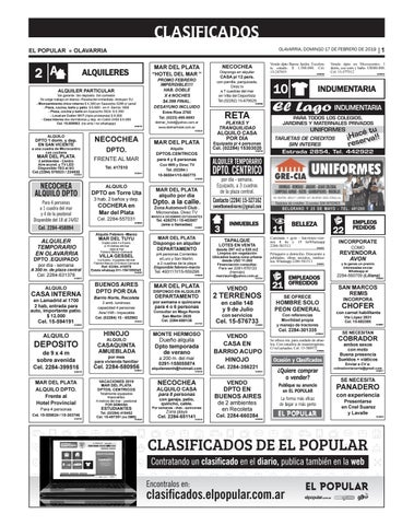 Clasificados del día 17 02 2019 by diarioelpopular - issuu 199e42a2291