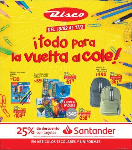 57975df5b11 Todo para la vuelta al cole 2019 by Supermercados Disco - issuu