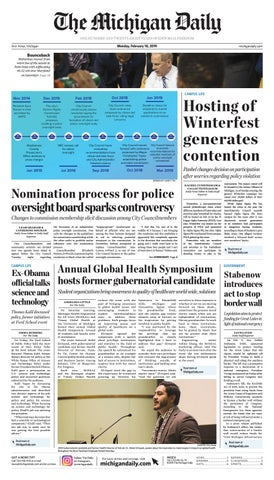 2019-02-18 by The Michigan Daily - issuu 3bc069cbc