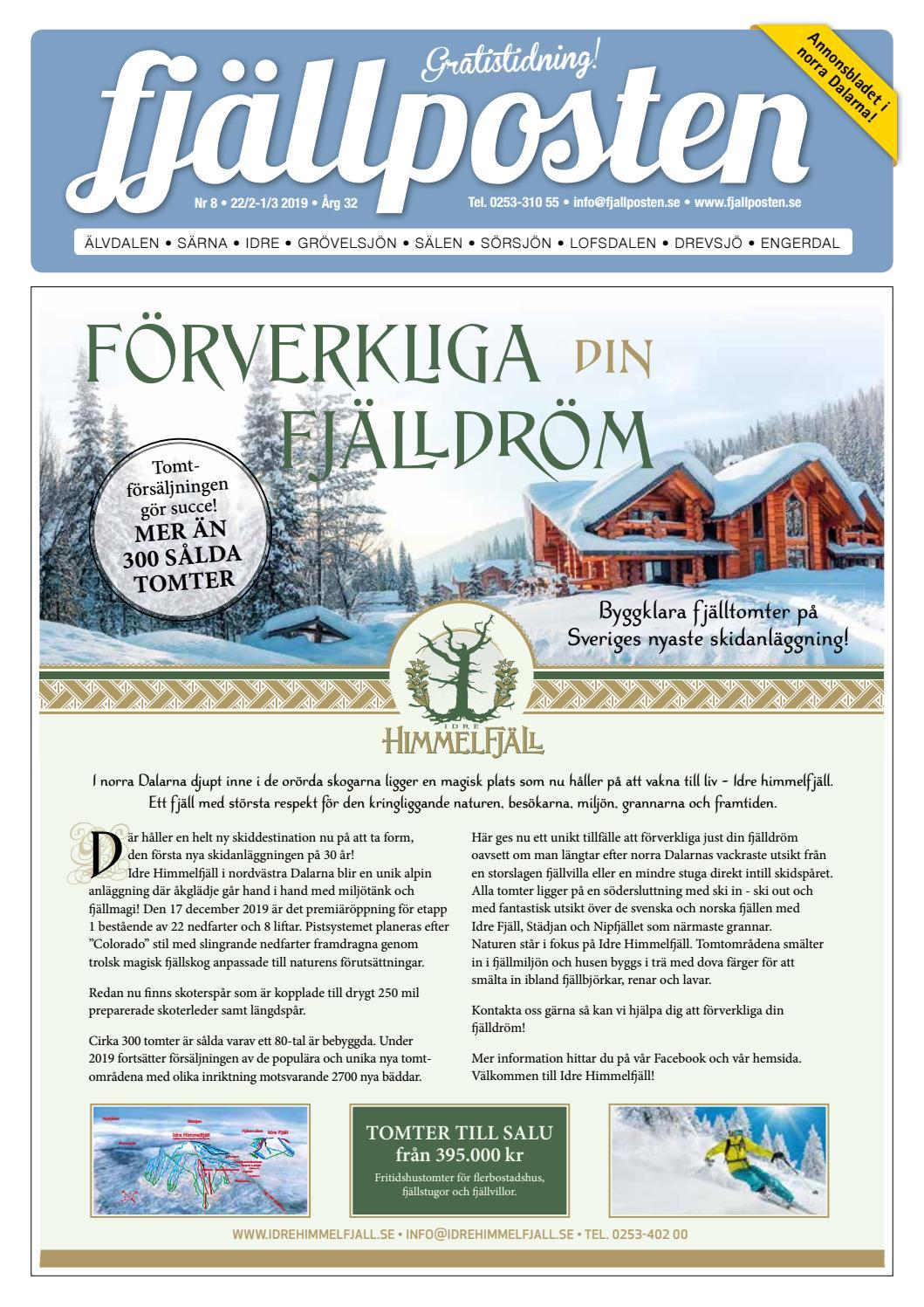 Fjällposten nr 8 2019 by Malin Holmgren - issuu 6ecf2c4f8cc60