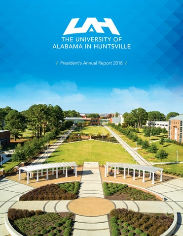 0c475c97c1ff UAH Annual Report 2018 by The University of Alabama in Huntsville ...