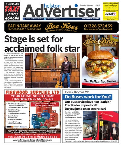 Helston Advertiser - February 19th 2019 by Helston Advertiser - issuu