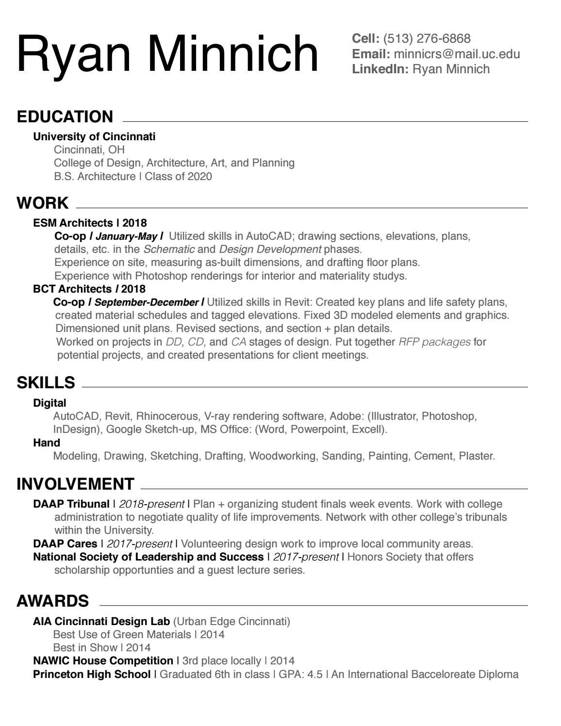Ryan Minnich_Resume by Ryan Minnich - issuu