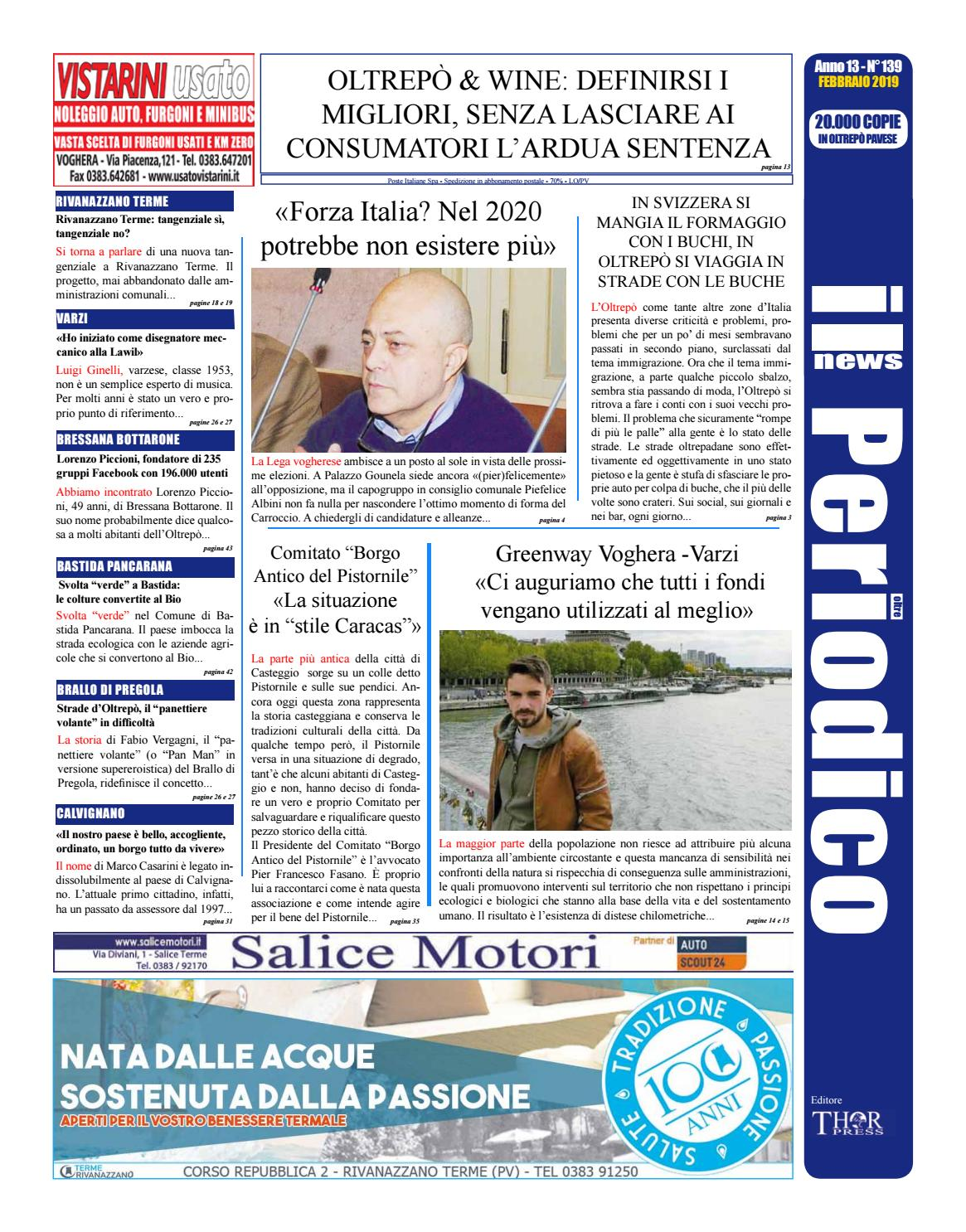 3f241a13462c Il Periodico News - FEBBRAIO 2019 N°139 by IlPeriodicoNews - issuu