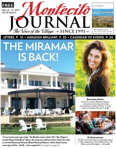 The Miramar is Back by Montecito Journal - issuu a099027ca