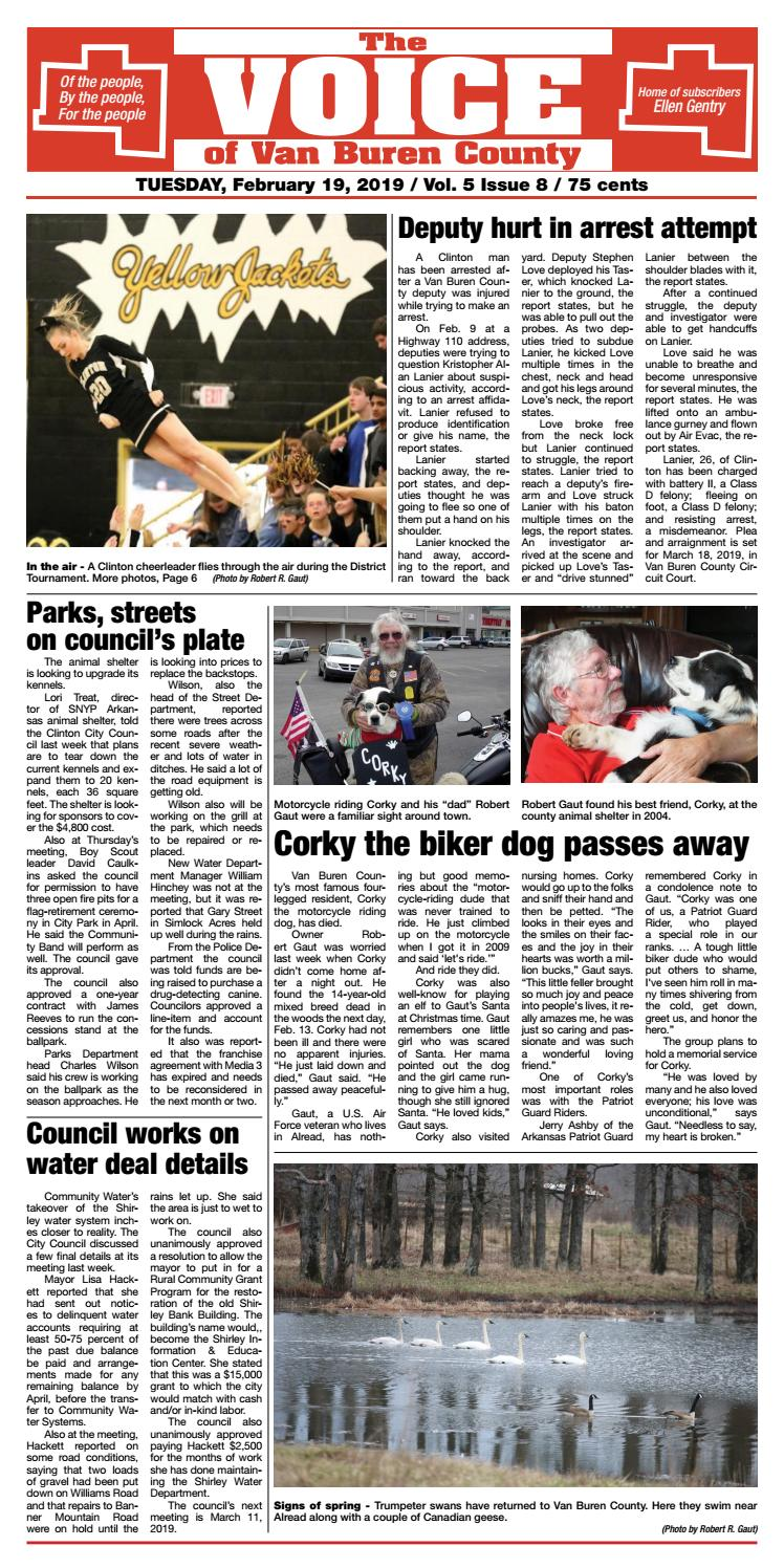 The Voice of Van Buren County - February 19, 2019 by The