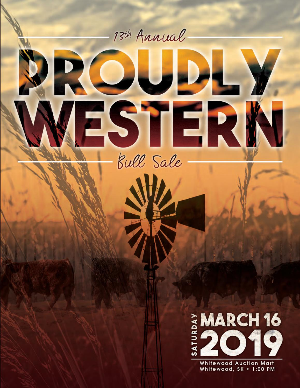 2019 Proudly Western Bull Sale by Today's Publishing Inc