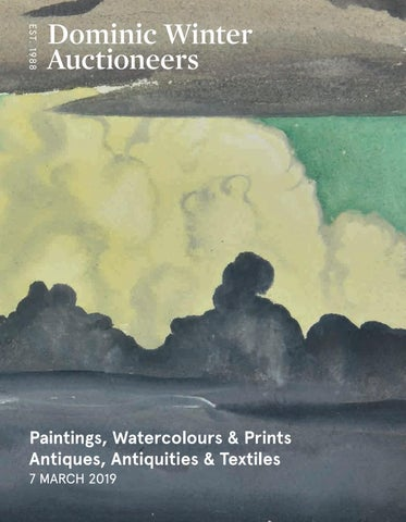 a055c3c462a Paintings, Watercolours & Prints Antiques, Antiquities & Textiles 7 MARCH  2019