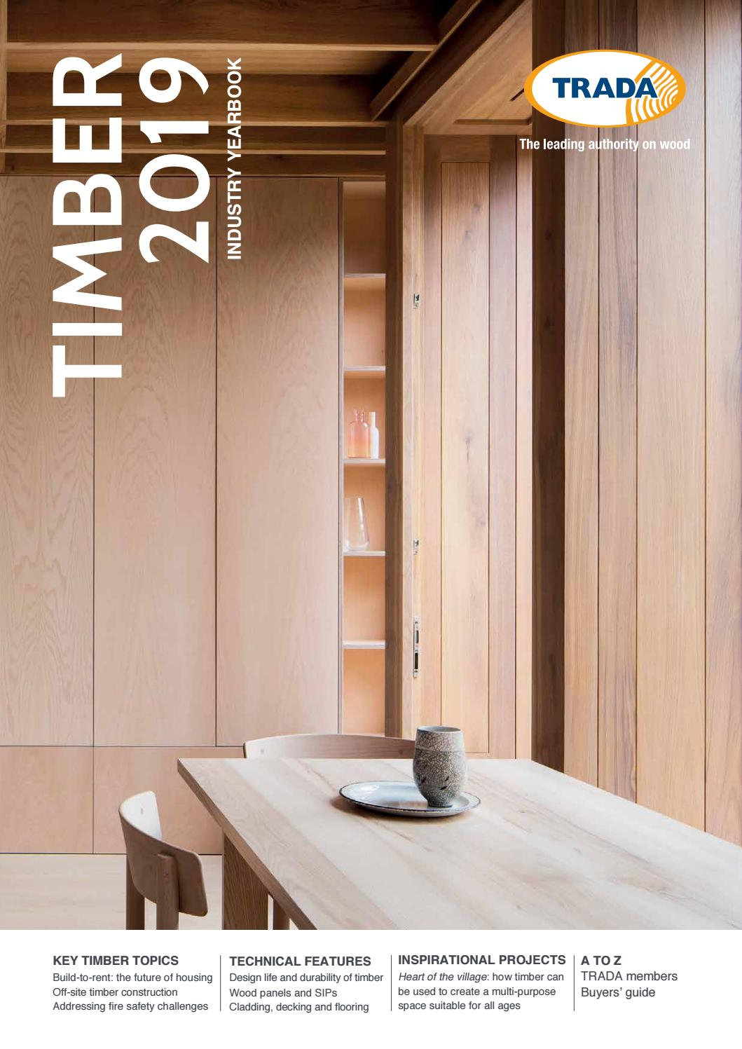 d32d0f4257c3 TRADA Timber Industry Yearbook 2019 by Open Box Media   Communications -  issuu