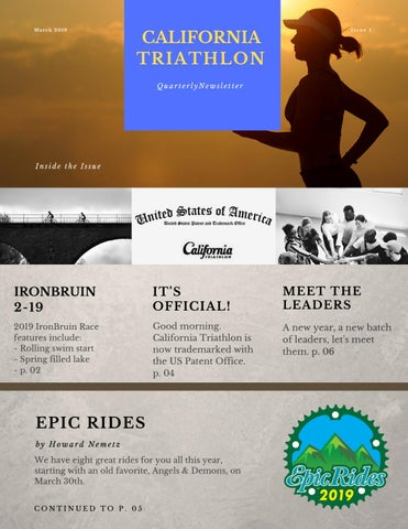 California Triathlon Quarterly Magazine by