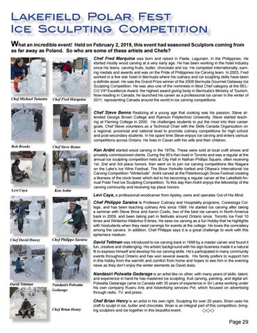 Page 29 of Lakefield Polar Fest Ice Sculpting Competition