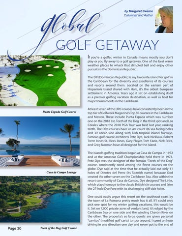 Page 30 of Global Getaways - The Dominican Republic, by Margaret Swaine